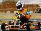 Image of Ian Williams in Arrow racing kart